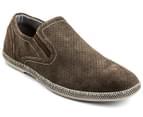 Julius Marlow Men's Combo Shoe - Marron Suede 1