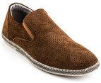 Julius Marlow Men's Combo Shoe - Rust Suede 4