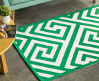 Jacquard Broadway 180x120cm Floor Rug - Green 1