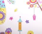 Children's Wall Decals - Flowers & Butterflies 3