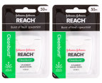 2x Johnson & Johnson Reach Cleanburst Floss 50m 2