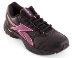Reebok Women's Triplehall - Black/Cosmic Berry 2