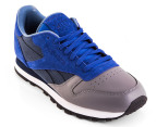 Reebok Men's Classic Leather R12 Stash Collab - Navy 4