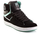 Element Men's Omahigh High Tops - Black/Mint 4