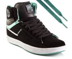 Element Men's Omahigh High Tops - Black/Mint 1