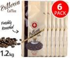 6x Vittoria Coffee Beans Caffé Latté Blend 200g 1