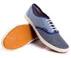 Spare Men's Size 6 Boston Shoe - 2 Blue Wash  4