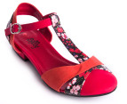 I Love Billy Size EU 40 Amarti Sandals - Red Floral  4
