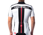 Castelli Free Short-Sleeved Jersey - White 3