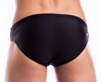 Arena Men's Satoll Brief - Black/Silver 3