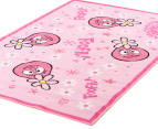 Kids 150 x 100 Yo Gabba Gabba Foofa Rug - Pink 2