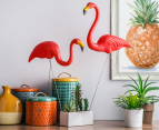 Pink Flamingo Garden Ornaments 2-Pack 6