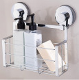 Everloc Solutions Chrome Shower Caddy - Chrome 4