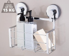 Everloc Solutions Chrome Shower Caddy - Chrome 1