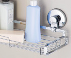 Everloc Chrome Plated Steel Large Bathroom Shelf - Chrome 3