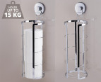 Everloc Toilet Roll Refill Holder - Stainless Steel 1