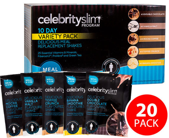 Celebrity Slim Meal Replacement Diet Plan Review (UPDATED ...