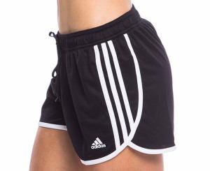 adidas black shorts womens