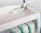 Just One Year Nursery Changing Table - White 2