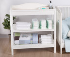 Just One Year Nursery Changing Table - White 4