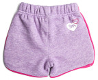 Lonsdale Baby Hornebolt Shorts - Lilac Marle 2