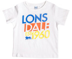 Lonsdale Toddler Scrope Tee - White 4