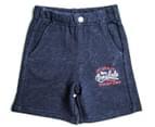 Lonsdale Toddler Burgh Shorts - Navy Marle 4