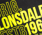 Lonsdale Boys' Conquest Tee - Black 3