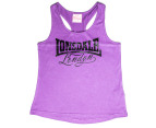 Lonsdale Girls' Blodwell Singlet - Dewberry 1