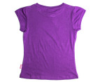 Lonsdale Girls' Saintaubin Tee - Dewberry 2