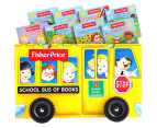 Fisher-Price School Bus Of Books 8-Book Library 1