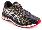ASICS Men's Gel Kayano 20 - Black/White/Gold 4