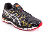 ASICS Men's Gel Kayano 20 - Black/White/Gold 2