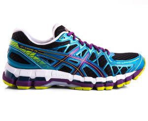 asics kayano black lime raspberry