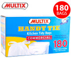 Multix Handy Tie Kitchen Tidy Bags Large 180pk 1