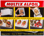 Multix Alfoil Griller Trays 4pc 2