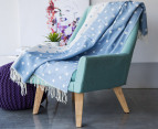 Apartmento Spotty Throw - Blue 3