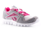 Reebok Women's YourFlex Run 4.0 - Grey/Berry/White 4