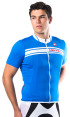 Castelli Prologo Short-Sleeved Jersey - Blue - S 4