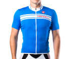 Castelli Prologo Short-Sleeved Jersey - Blue - S 1