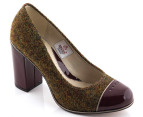 Clarks Women's Cornish Ice - Green Tweed 4