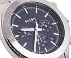 Fossil Men's Retro Traveler Chronograph S/Steel Watch 2
