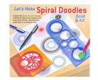 Let's Make Spiral Doodles Book & Kit 3