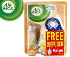 Air Wick Freshmatic i-Motion Compact Pack/FREE Diffuser Frangipani 13g  1