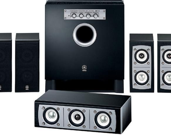 yamaha ns p437 7 1 channel speaker system. Black Bedroom Furniture Sets. Home Design Ideas