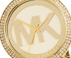 Michael Kors Women's Parker Logo Watch - Gold 2