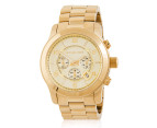 Michael Kors Runway Large Chronograph Watch - Gold 1