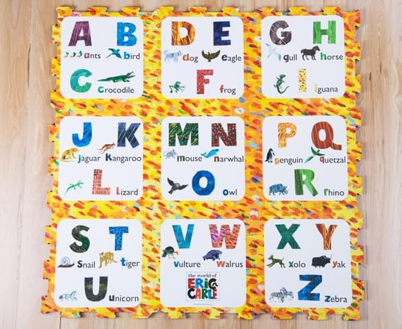 Catchoftheday Com Au The World Of Eric Carle Alphabet