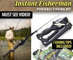 Instant Fisherman Portable Fishing Kit! video