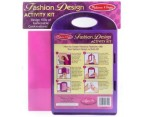 Melissa & Doug Fashion Design Activity Kit 2